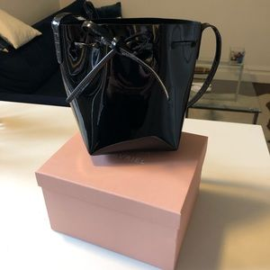 NEW Mansur Gavriel Bucket Bag Mini